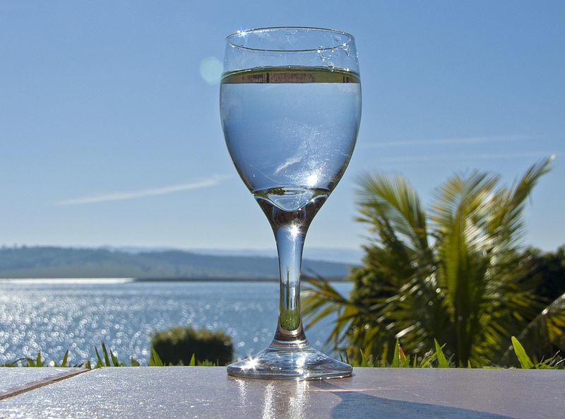 お水グラスのイメージ