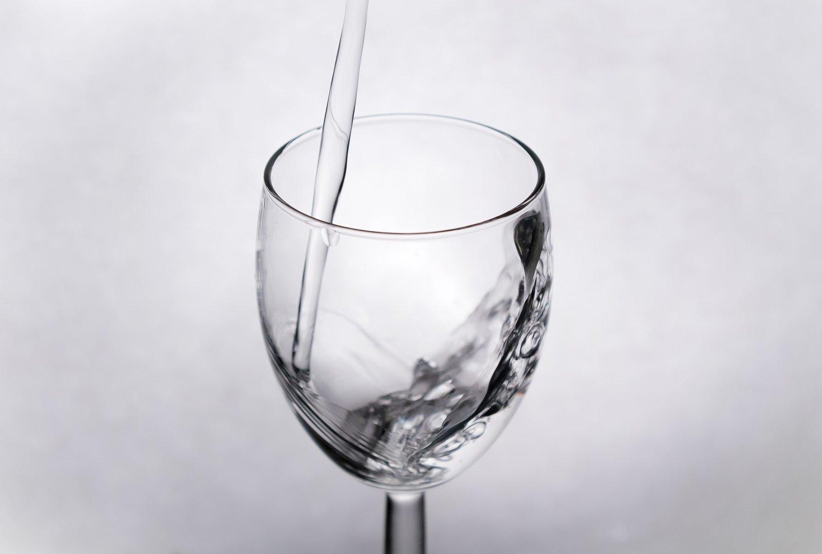 お水グラス