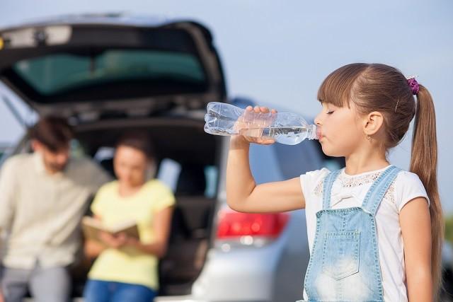 熱中症対策には水分補給