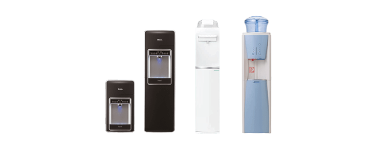 給水タンク型浄水器一体型ウォーターサーバー一覧