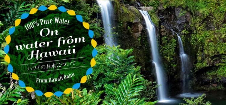 ハワイ原水のウォーターサーバー