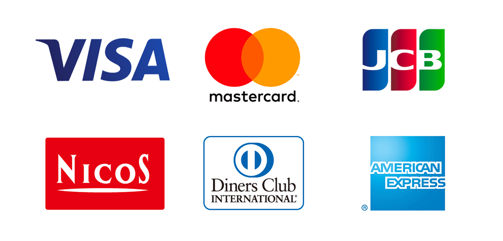ハミングウォーター支払い可能なクレジットカード
