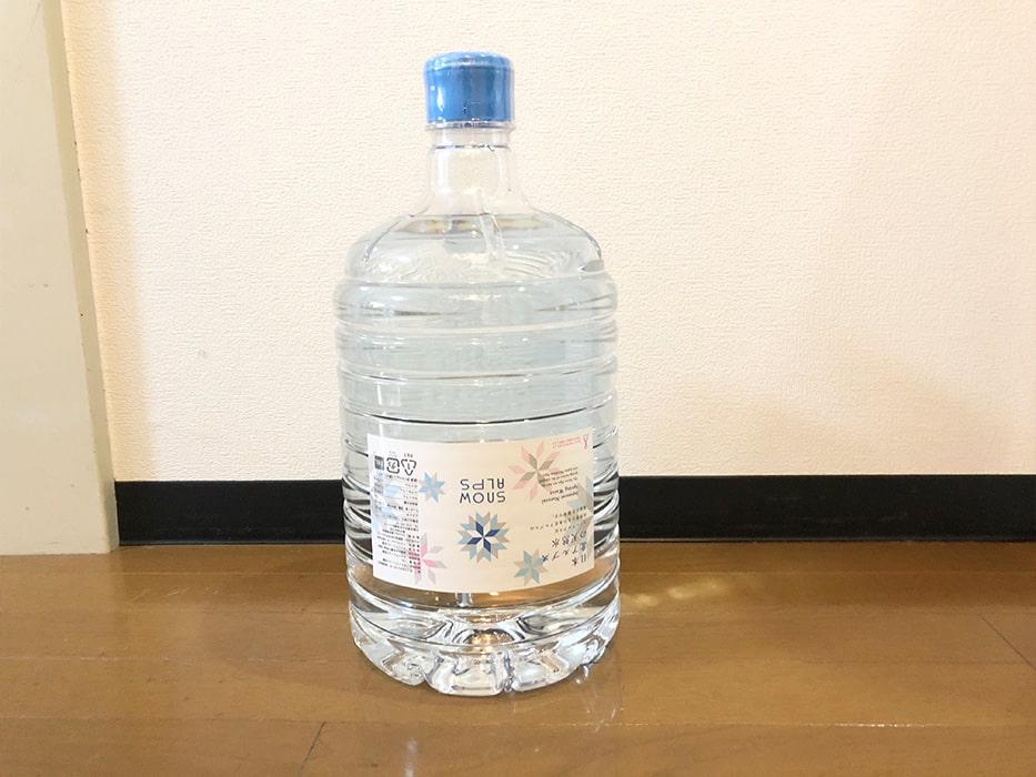 スノーアルプス水ボトル